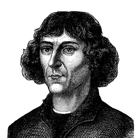 True or false? Nicholas Copernicus is known for his heliocentric